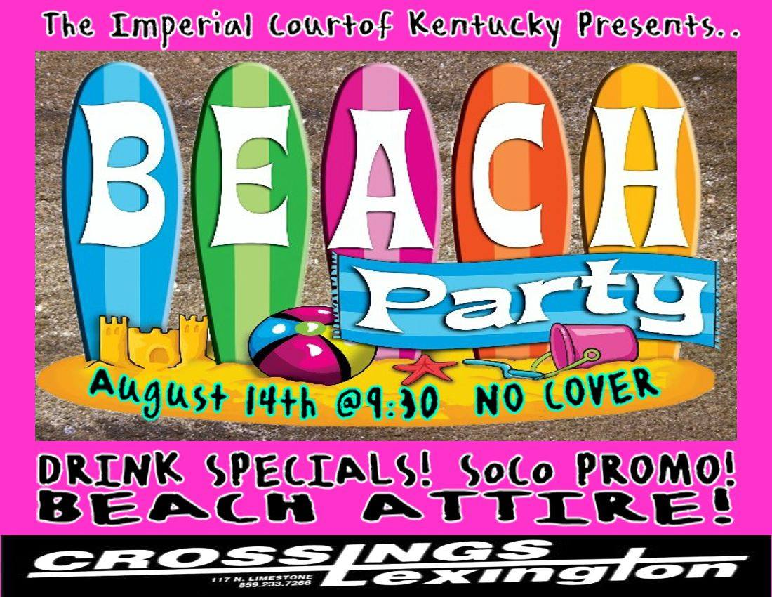 ICK Beach Party 08142013