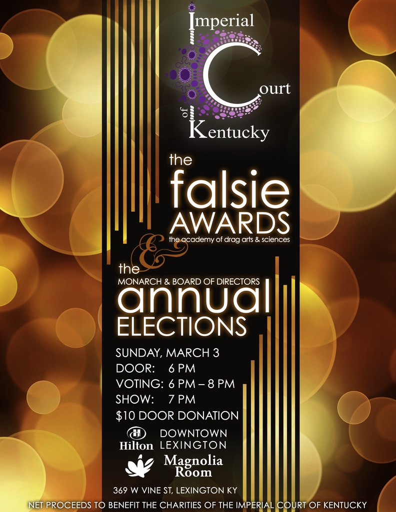 The Falsie Awards & Annual Elections