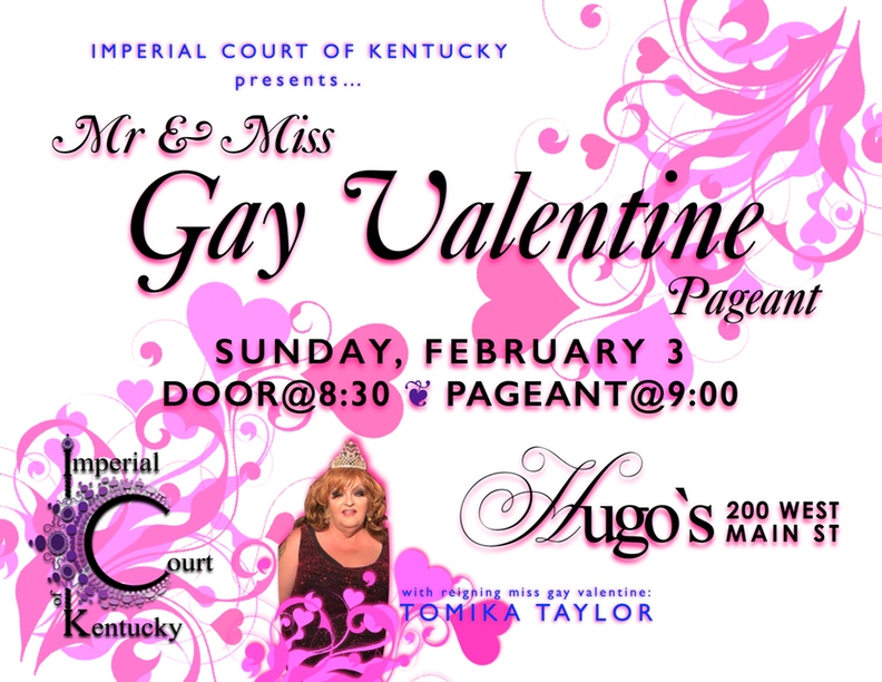 Mr & Miss Gay Valentine Pageant