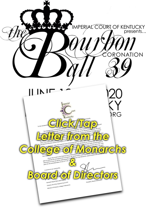 Click/Tap, Letter from the College of Monarchs & Board of Directors